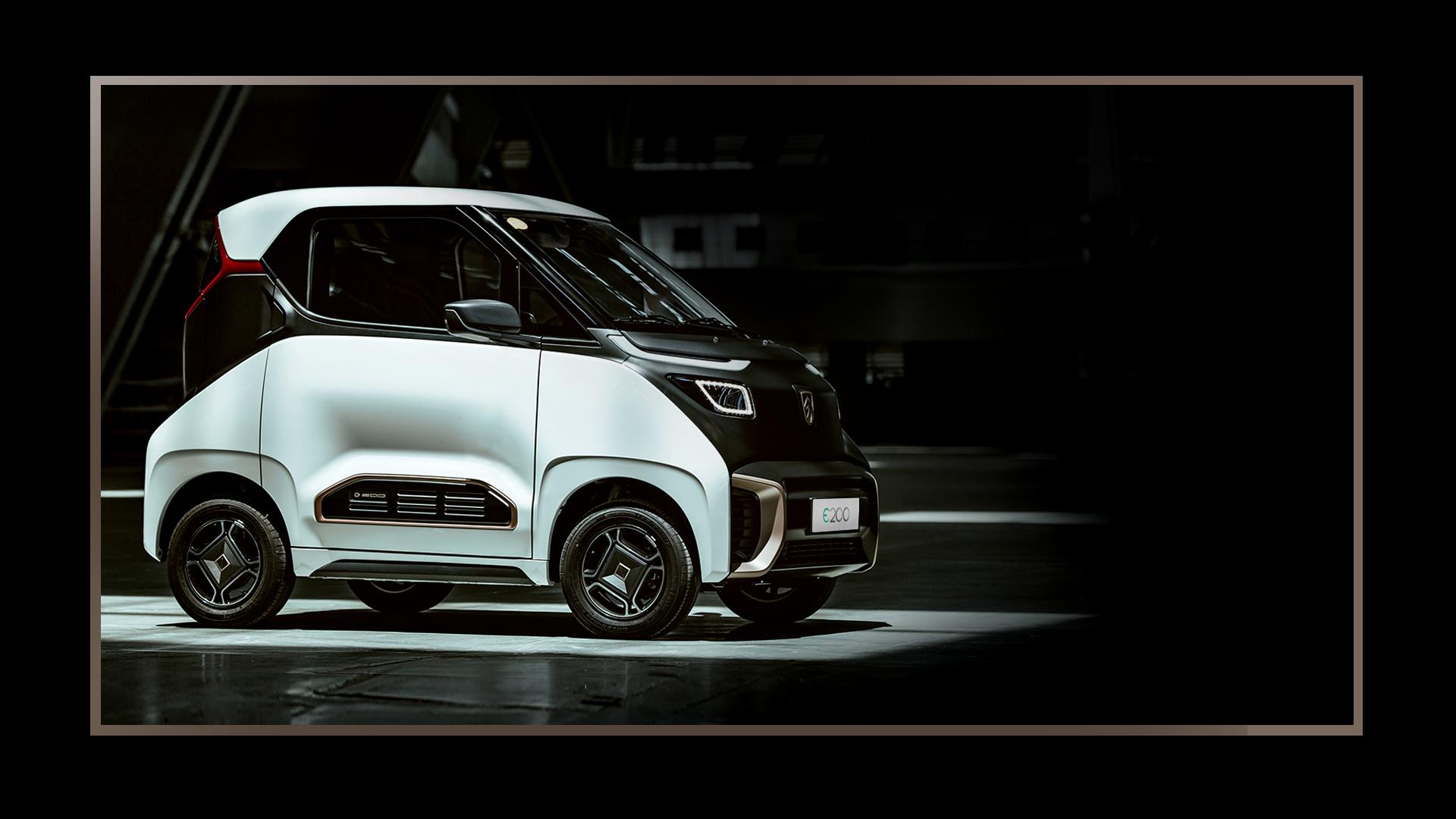 寶駿E200,電(dian)動汽(qi)車,新(xin)能源(yuan)車,外觀,顏色,圖片
