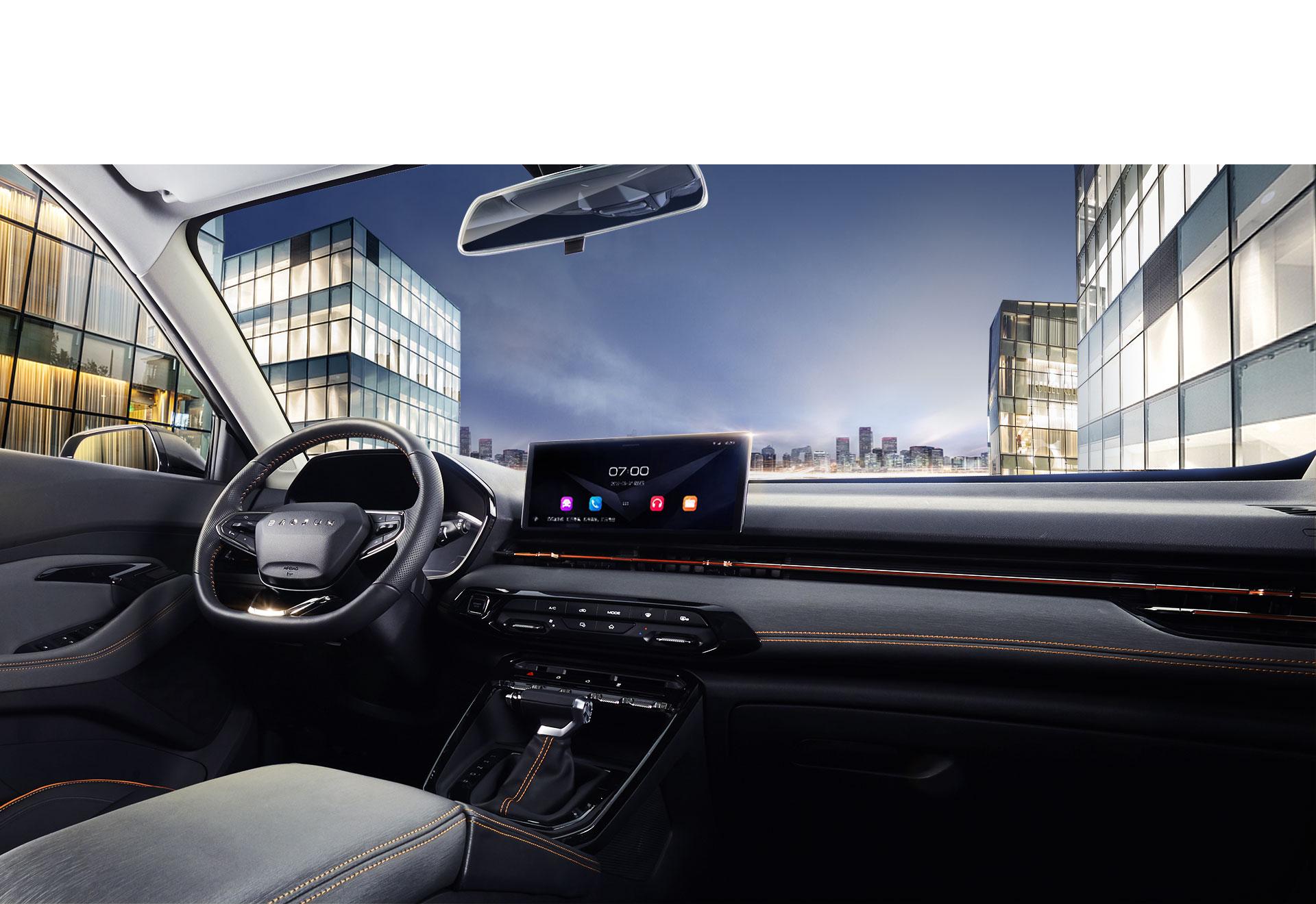 新寶駿RS-3,寶駿RS-3,寶駿RS3,圖片,智(zhi)能SUV,空間設計