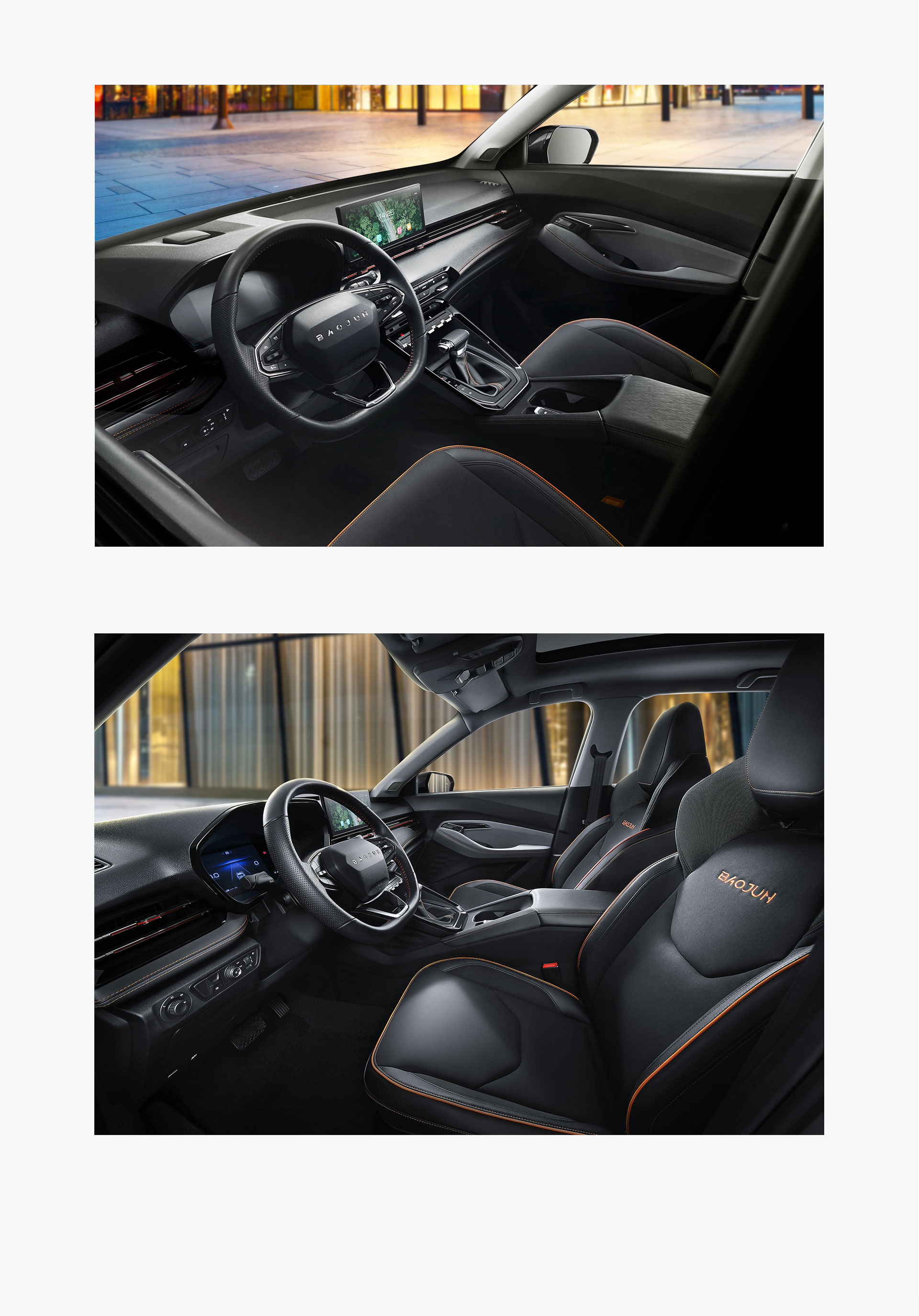 新寶駿RS-3,寶駿RS-3,寶駿RS3,圖片,智(zhi)能SUV,空間設計,數字科技空間,智(zhi)慧(hui)雙屏