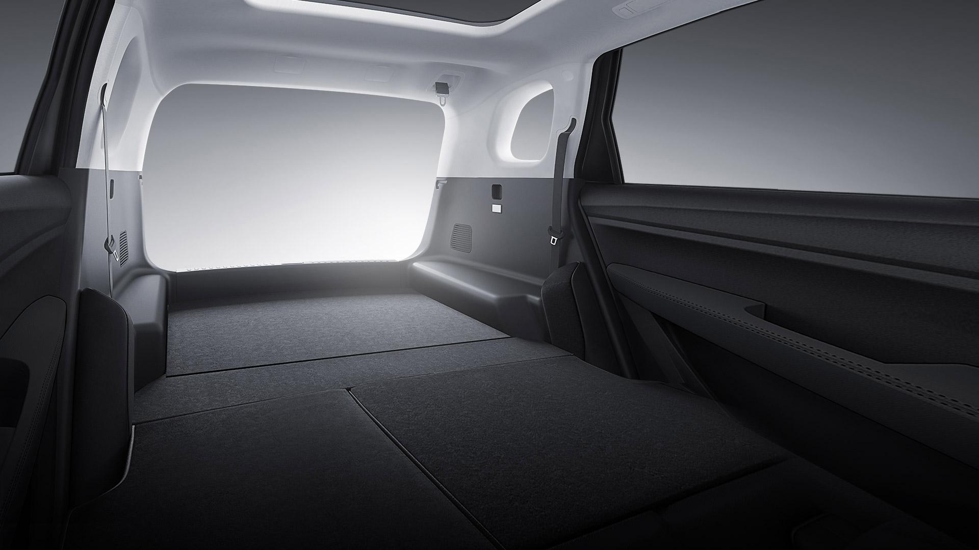 寶(bao)駿530,2020款,空間(jian),後排座椅